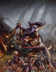 Tyranid Carnifex Illustration