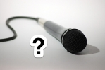 microphone question mark