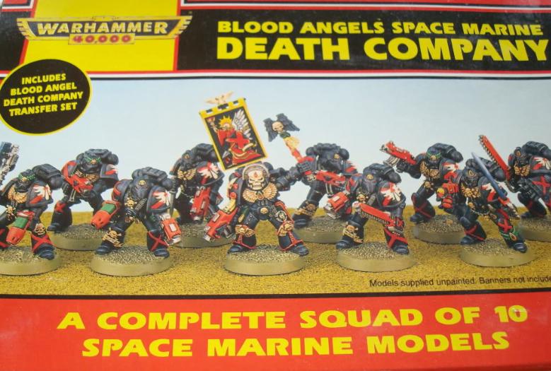 Blood Angel Codex Warhammer 40,000 Good x1 Blood Angels 5th Edition