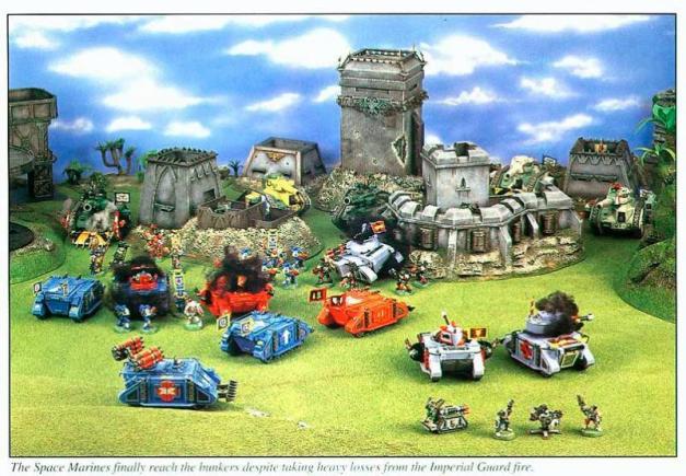white dwarf battle report old school