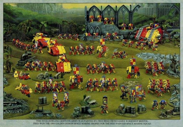 howling griffon army