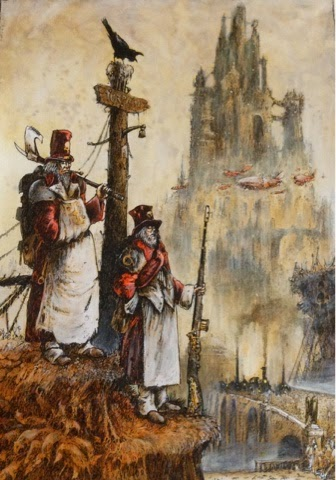 john blanche illustration