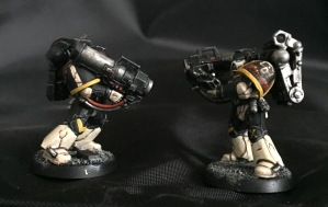 space marines with missile launchers