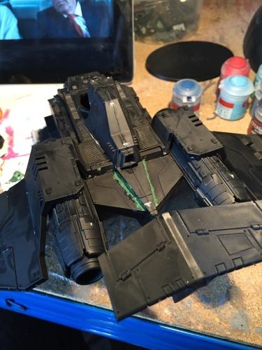 fixing stormraven panel gaps