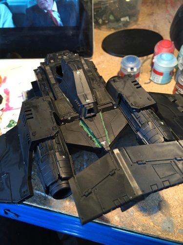 fixing stormraven panel gaps
