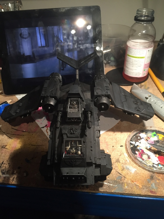 stormraven gunship ready to paint