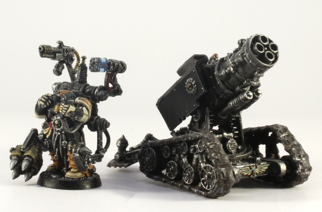 Mortifactors Techmarine And Thunderfire Cannon