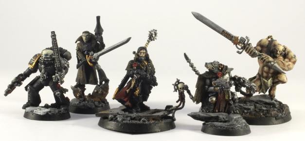 Ordo Xenos Inquisition Retinue