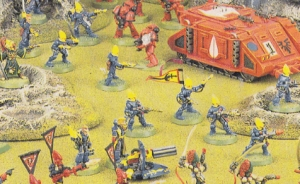 eldar vs blood angels