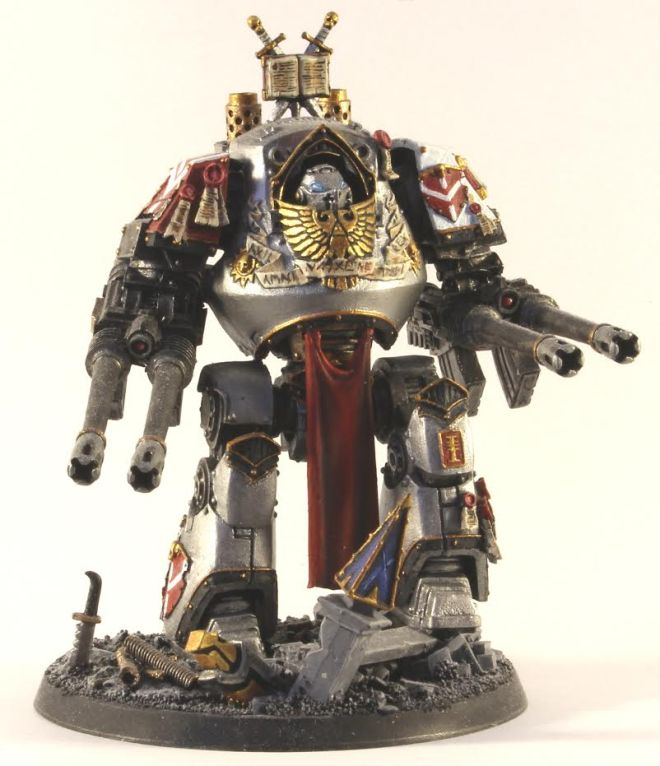 Grey Knights Contemptor Dreadnought