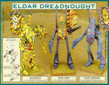 eldar dreadnoughts