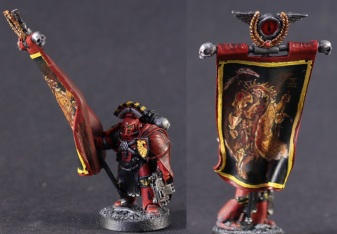 horus heresy blood angels standard bearer