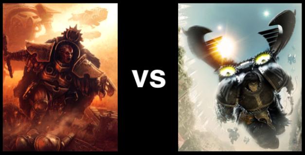 Angron vs Corax