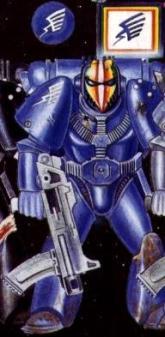 rainbow warrior space marine