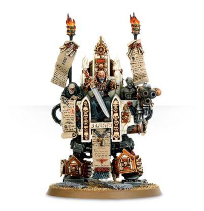 Inquisitor Karamazov's Throne of Judgement