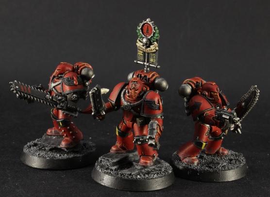 blood angels legion vexilla