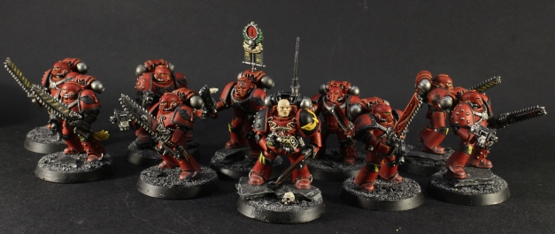 blood angels despoiler squad