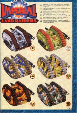 space marine land raiders camo