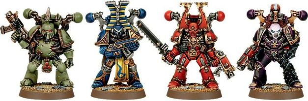 old chaos space marines