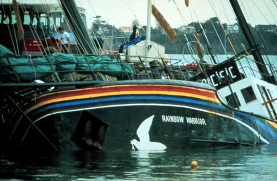 rainbow warrior ship