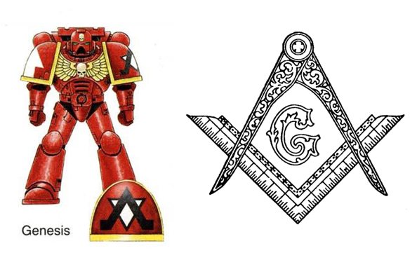 space marine freemasons genesis chapter