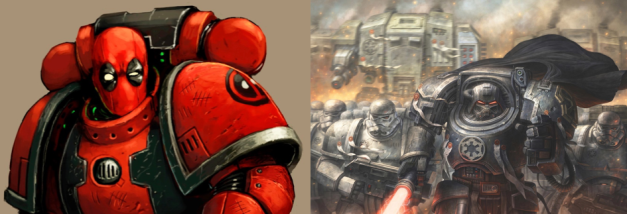 pop culture space marines