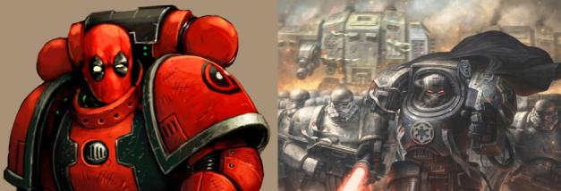 pop culture space marines