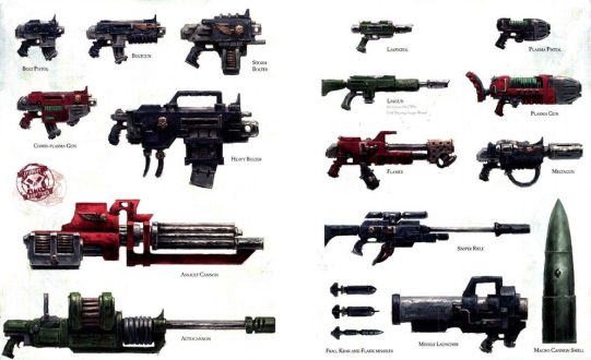 imperial weaponry