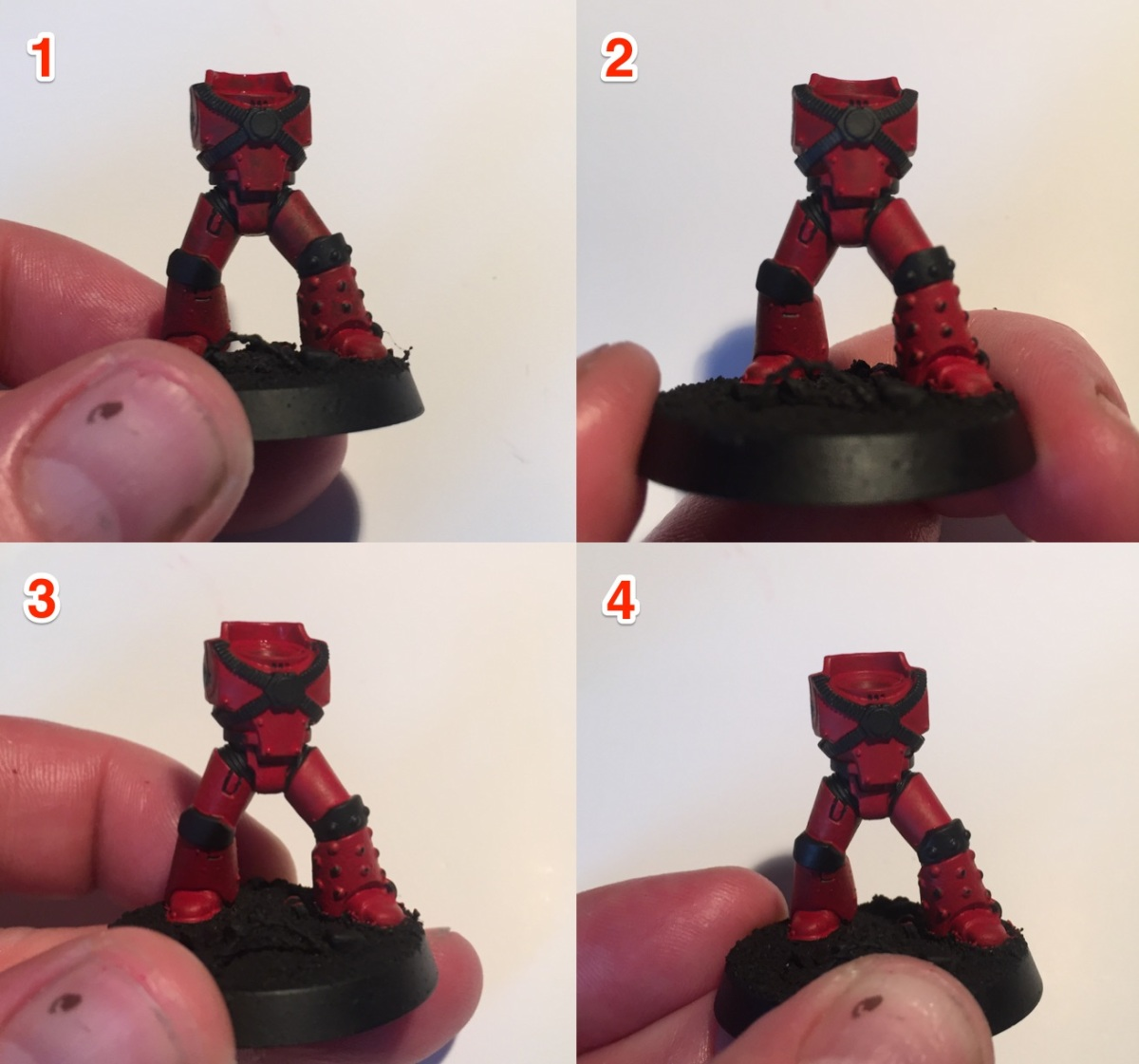 Basic Painting Tutorial: Blood Angels - Part 1: Legs and Torso