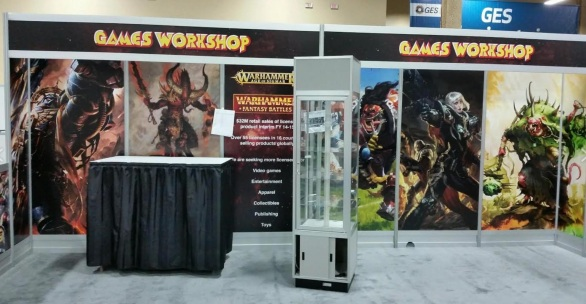 games workshop las vegas licensing fair