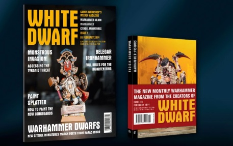 weekly white dwarf and visions