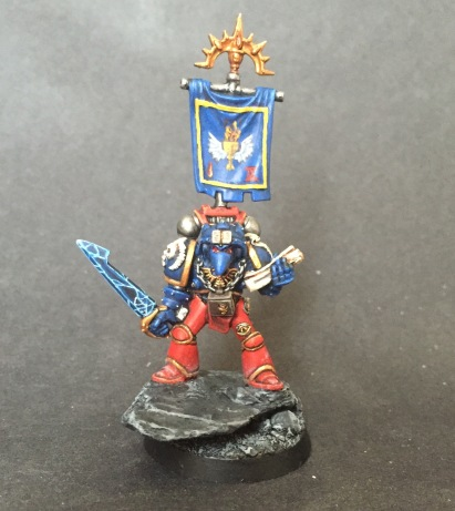 Beaky Blood Angels Librarian