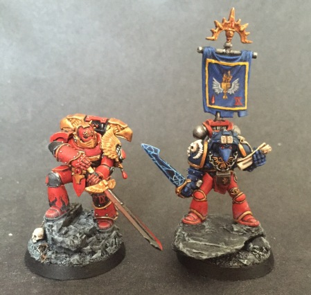 old new miniatures comparison