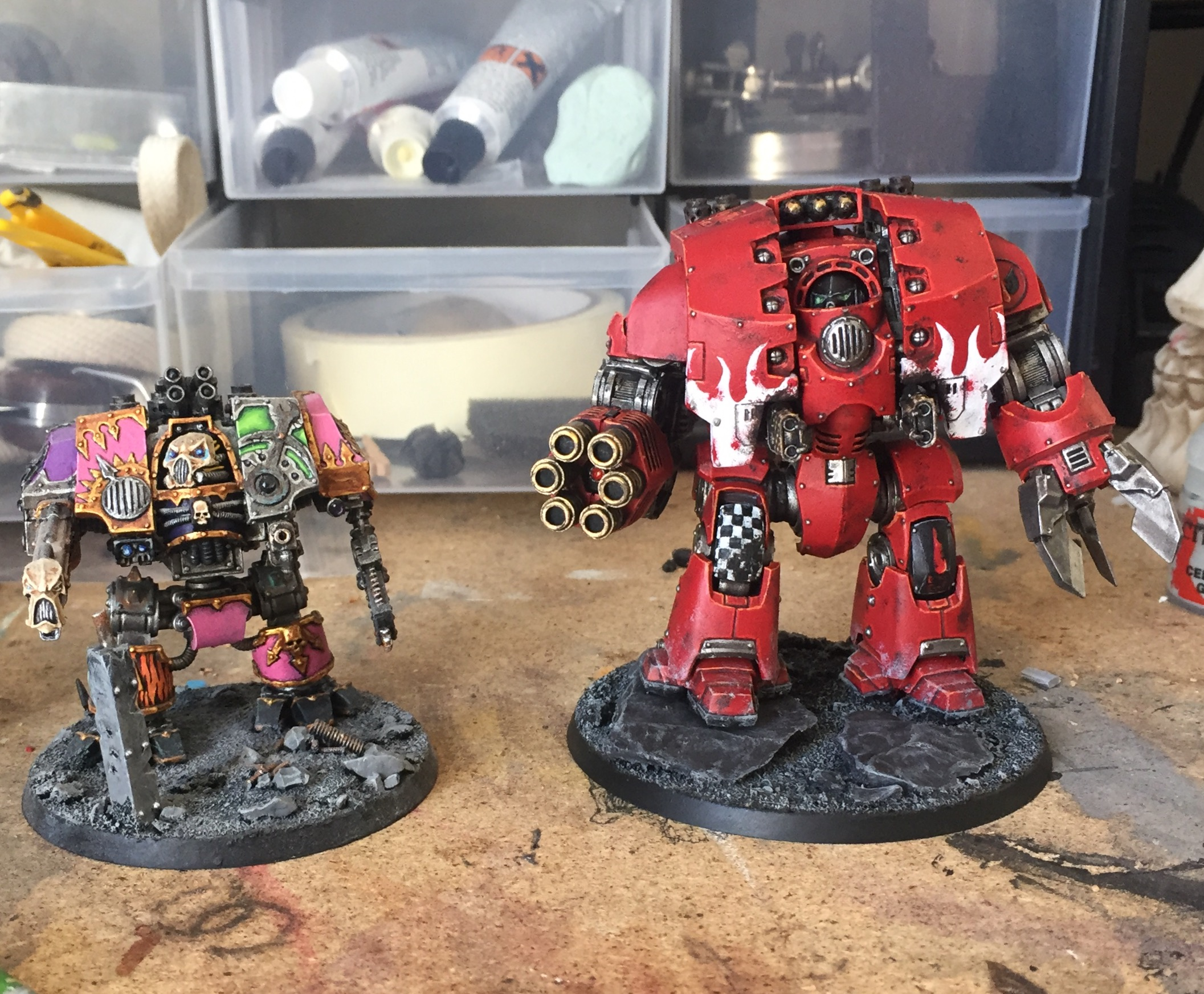 siege dreadnought size comparison