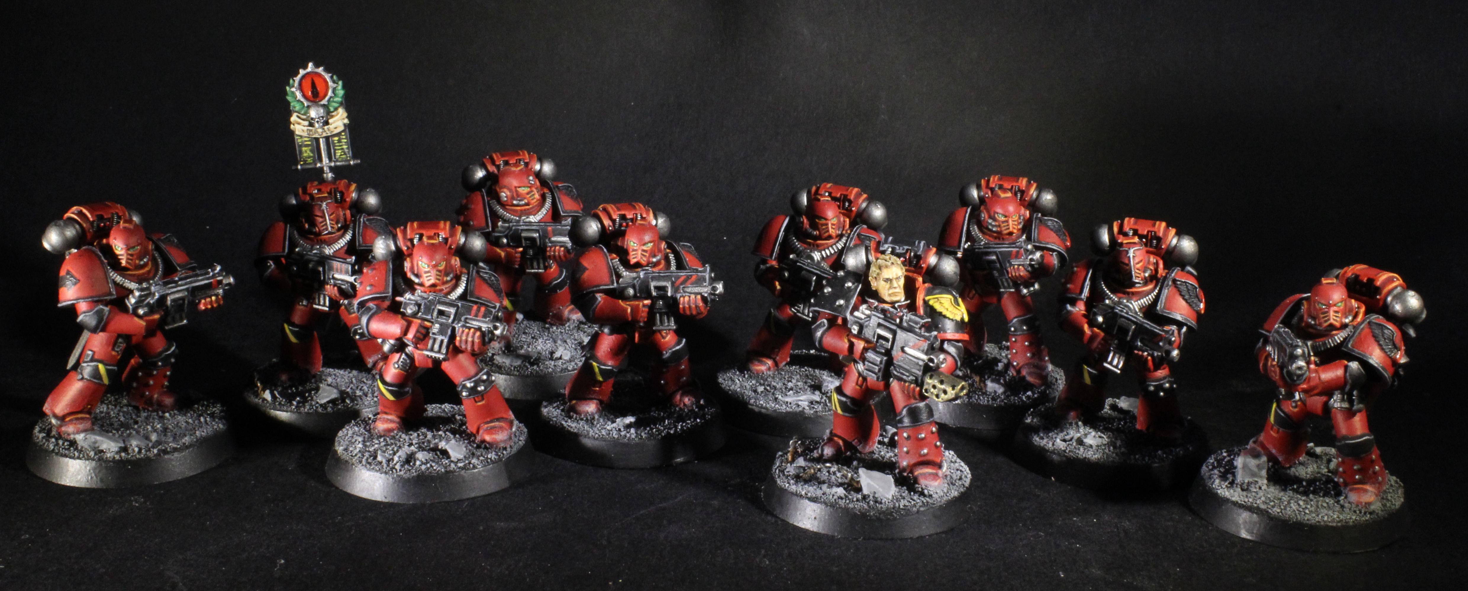 Blood Angels Legion tactical Squad