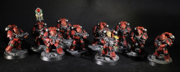 Blood Angels Legion tactical Squad