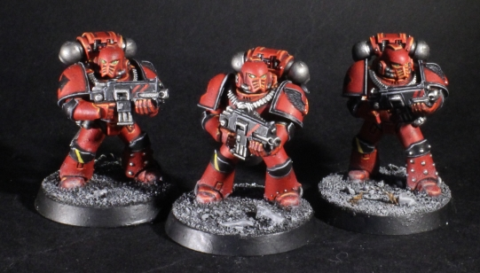 heresy era blood angels tactical marines