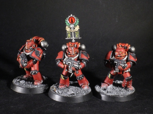 blood angels legion vexilla