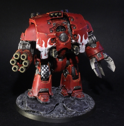 Blood Angels Leviathan Siege Dreadnought