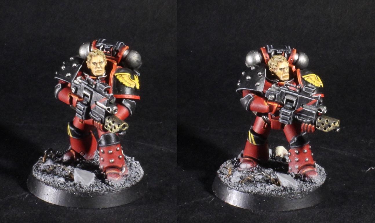 blood angels legion tactical sergeant