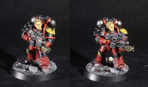 blood angels legion tactical sergeant
