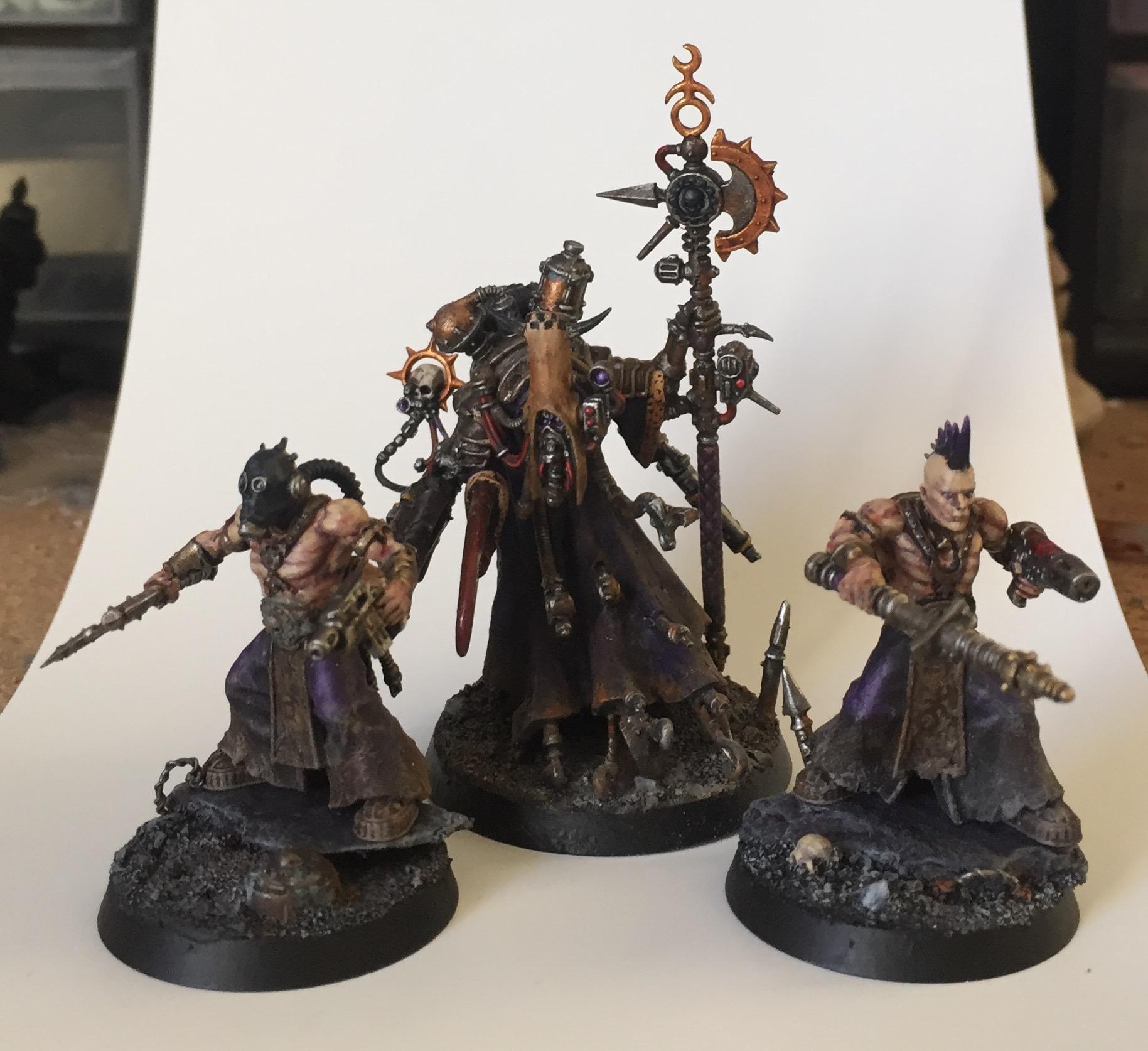 slaaneshi dark mechanicum cult