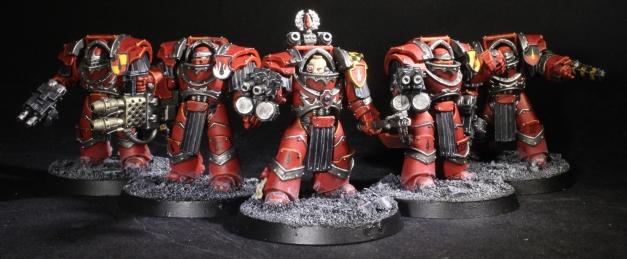 Blood Angels Cataphractii Terminators