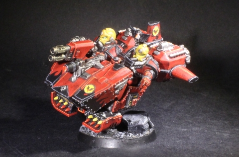 Blood Angels Land Speeder
