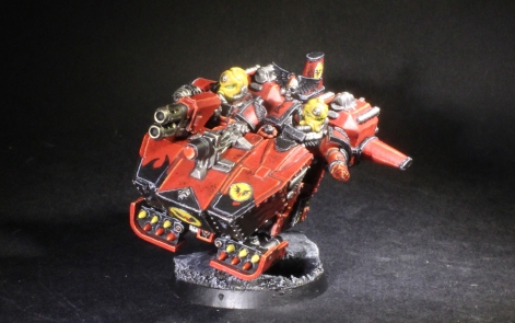 blood angels converted land speeder