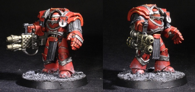 cataphractii terminator with heavy flamer