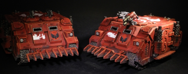 blood angels rhinos