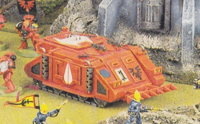 2nd edition blood angels rhino apc