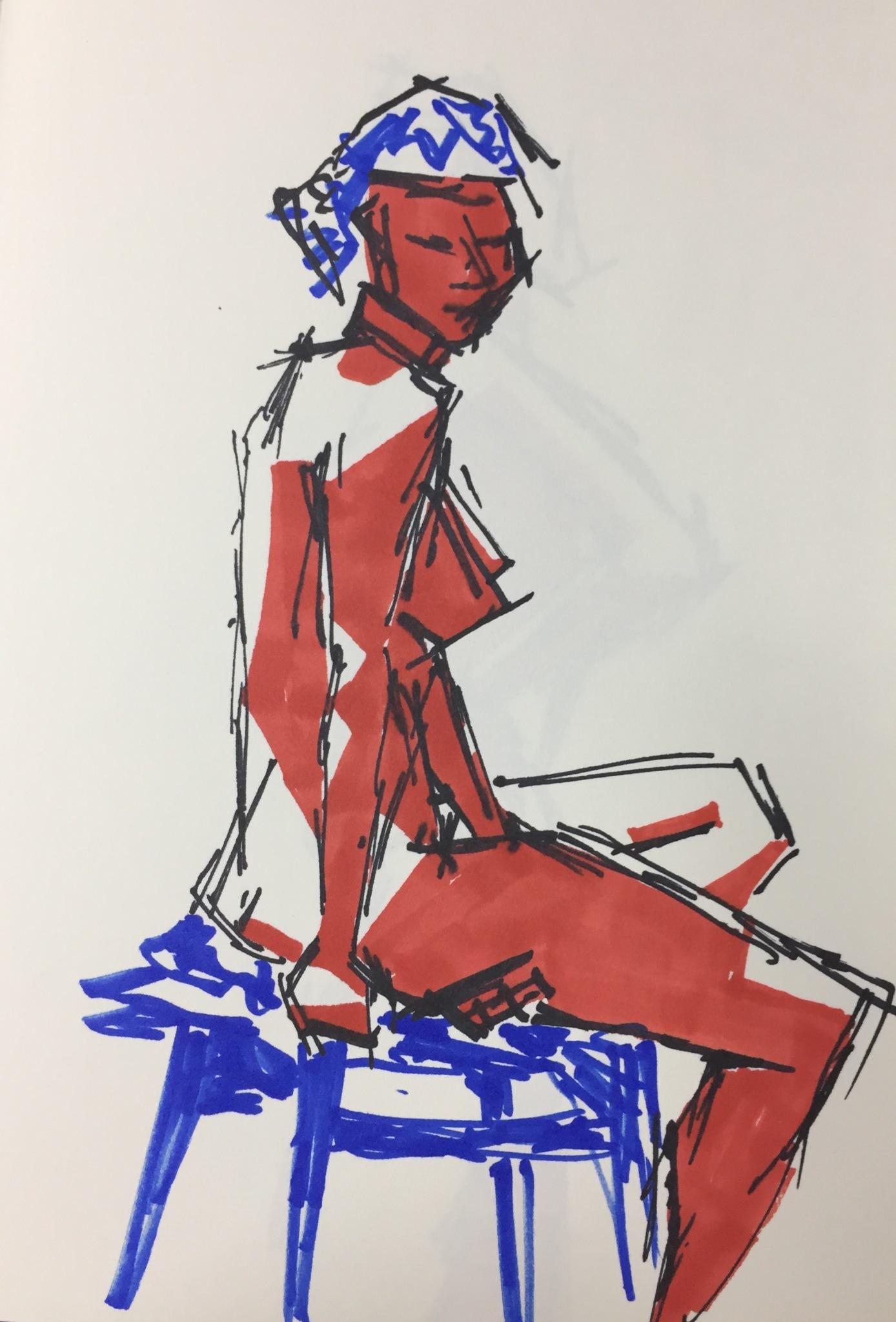 John Ashton Life Drawing