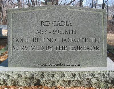 cadia tombstone